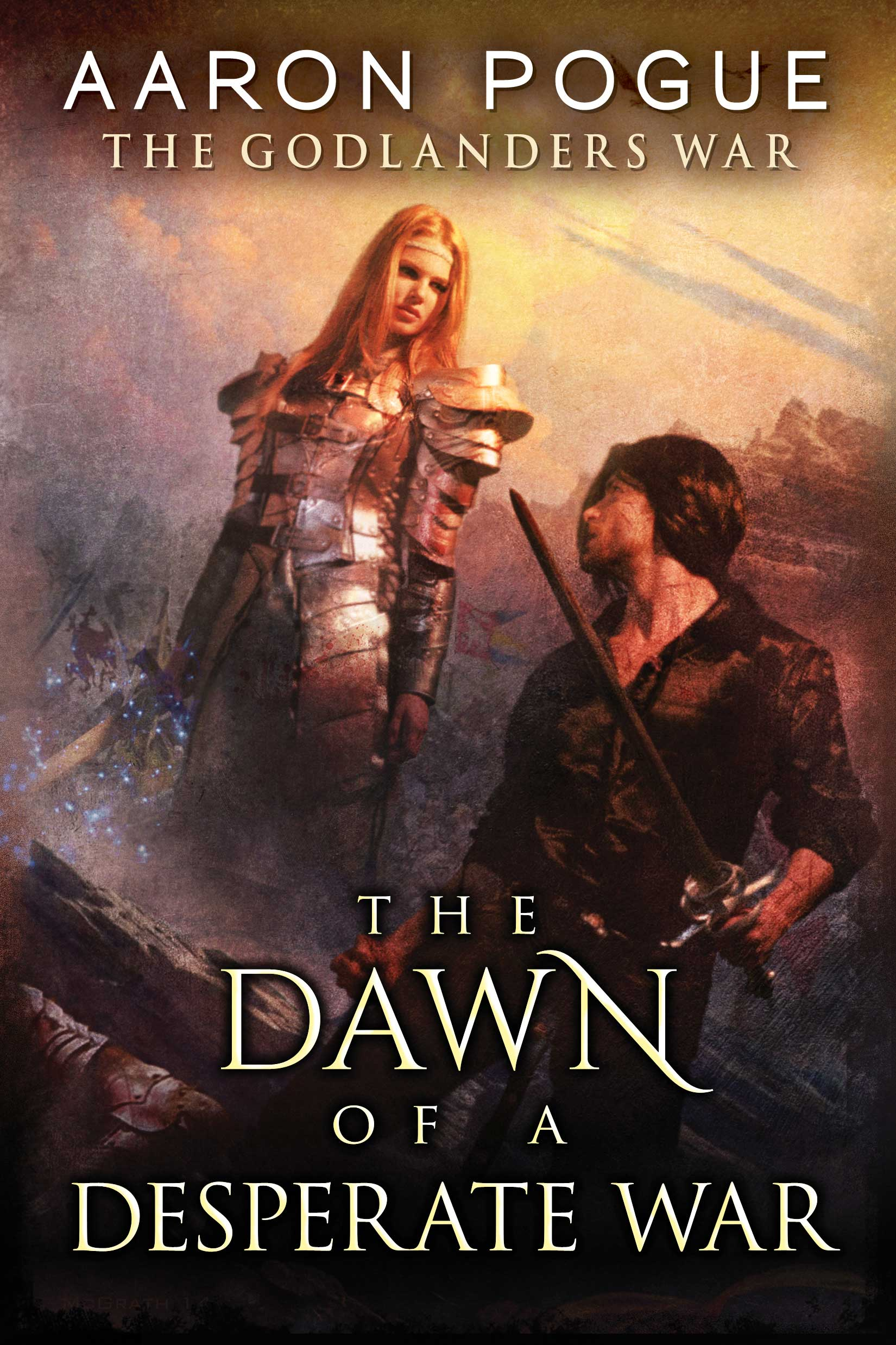 The Dawn of a Desperate War cover