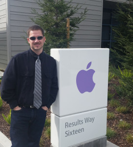 Aaron at Apple